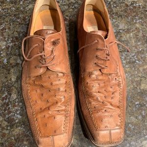 Mezlan hand crafted Italian dress shoes
